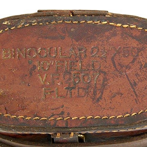 Original British WWII Officer Binocular Case