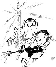 Al Hirschfeld's STAR TREK: KIRK & SPOCK Hand Signed Limited Edition Lithograph