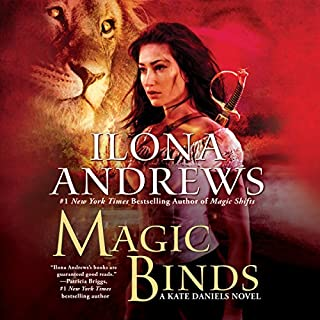Magic Binds     Kate Daniels, Book 9              By:                                                                                                                                 Ilona Andrews                               Narrated by:                                                                                                                                 Renee Raudman                      Length: 13 hrs and 1 min     2,852 ratings     Overall 4.8