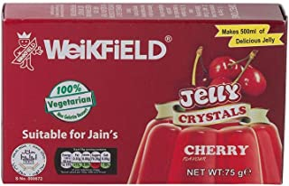 Weikfield Cherry Jelly Crystals - 75g - (pack of 3)