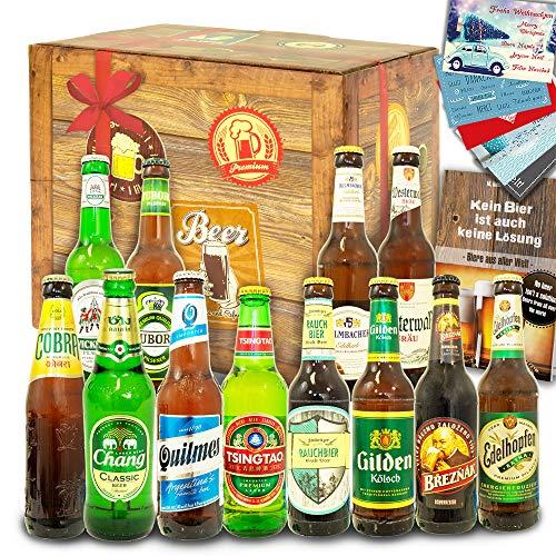 Für Papa/Geschenkidee Papa / 12 Biere aus D und aller Welt