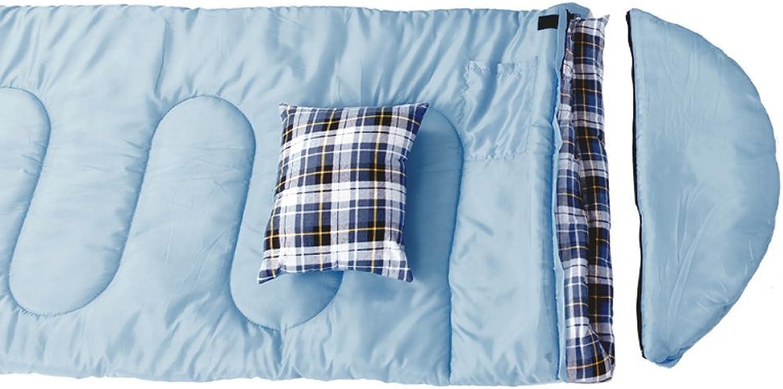 Camping Schlafsäcke, Bewegliche wasserdichte dicke warme Schlafsack Schlafsack Schlafsack können Outdoor-Camping Erwachsenen Schlafsack Frühling und Winter Indoor-nap gespleißt werden (drei Farben, senden Beutel) ,Schlafsack B071L9WRPP  Verkauf Online-Shop 8da82a