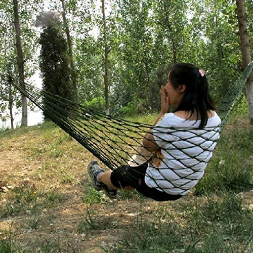 earlybirdsavings Meshy Rope Hammock Sleeping netta Bed for Hiking, Nylon by earlybirdsavings