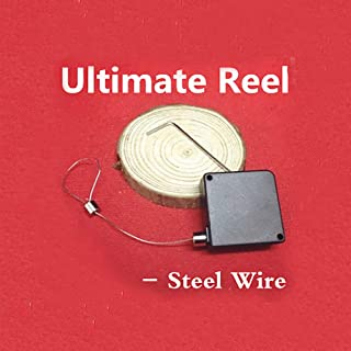 Enjoyer Ultimate Reel Magic Tricks Magician Accessories Stage Illusions Street Magic Gimmick Object Vanishing Device (Steel Wire)