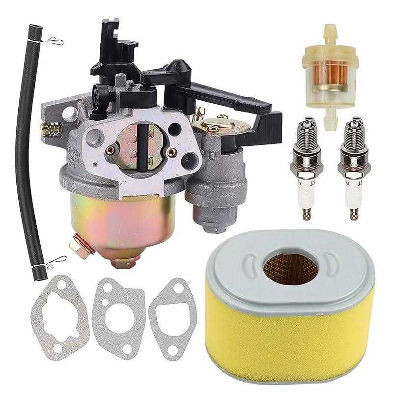 Allong GX120 Carburetor Air Filter Spark Plug for Honda GX120 GX160 GX168 GX200 Small Engines hy816242359
