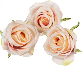 Unique Rose Jaune Mariage en Boutonnière
