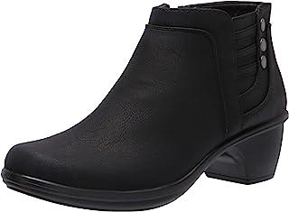 حذاء برقبة للكاحل للنساء من Easy Street، أسود، 5M US