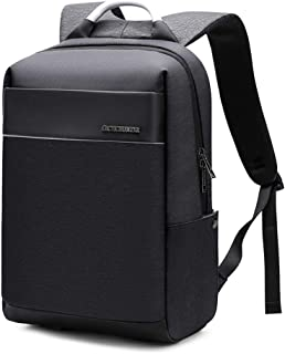 Laptop Backpack with USB Charging Port,Slim Travel Bag with Laptop Compartment for Men and Women,Water Resistant College S...