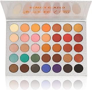 Beauty Glazed Eyeshadow Palettes 35 Colors Makeup Matte Eye Shadow Palettes Waterproof Pallete office clean