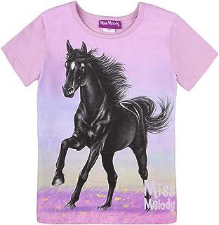 Miss Melody niñas T-Shirt, Camiseta, Violeta