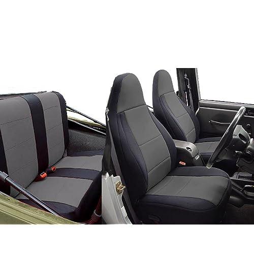 Groovy Seat Covers For Jeep Tj Amazon Com Machost Co Dining Chair Design Ideas Machostcouk