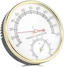 Agatige Termómetro Interior, termómetro 2 en 1 Higrómetro y medidores de Humedad Monitor de medidor de Humedad para Sala de Sauna
