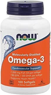 NOW Foods NOW Foods Omega-3 1000mg S/Gels 100's