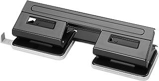 Herlitz - Perforadora de papel (4 perforaciones, con guía