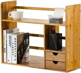 Bibliothèques Armoires, modules et étagères Étagère étagère étagère avec tiroir Simple Table Rack étudiant créative Bureau...