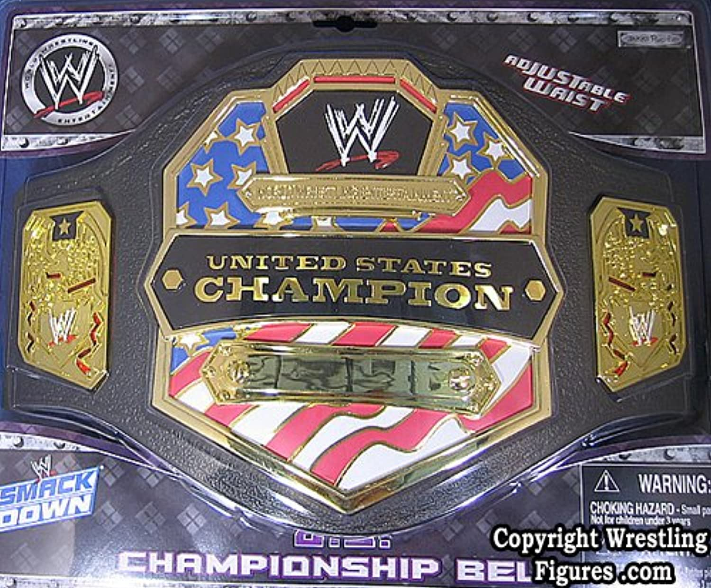 UNITED STATES CHAMPIONSHIP KID SIZE TOY WWE WRESTLING BELT