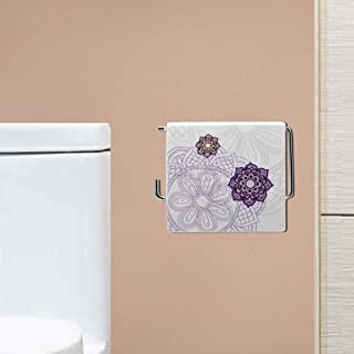 Kookee™ Sanitary Wares Window TET Tissue Paper Roll Holder - Floral Print