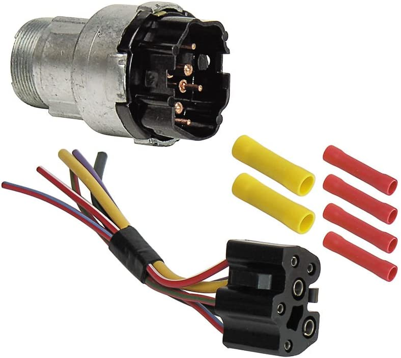 Amazon.com: Ignition Switch with Wiring Harness for 1968-69 Galaxie  Fairlane Mustang 70 F100 Maverick (EBSW1054KT): Automotive | Ford F100 6 Cylinder Wiring Harness |  | Amazon.com