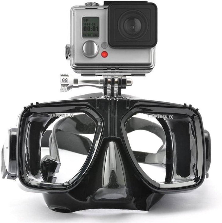 Ocamo Sport Tauchen Maske HD rahmenlose schwarz Silikon Rock Rock Rock Tauchen Schnorcheln Schwimmbrille Maske B07CXPZR99  Hochwertige Materialien f80dd3