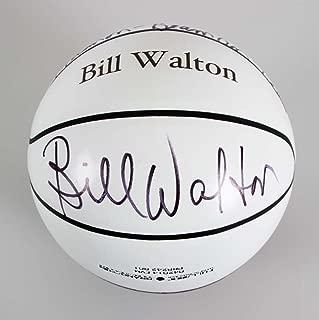 Bill Walton Signed Basketball UCLA NBA - COA JSA