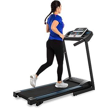 XTERRA Fitness TR150 Folding Treadmill Black