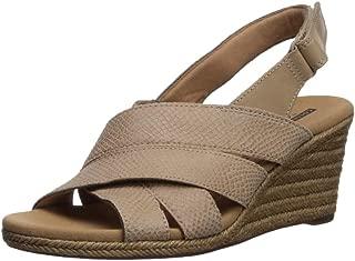 peep toe espadrille wedge sandal