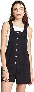 Women's Button Front Shortalls