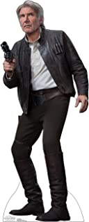 Advanced Graphics Han Solo Life Size Cardboard Cutout Standup - Star Wars Episode VII: The Force Awakens