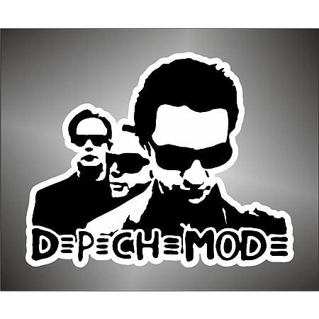 Graphic Lab Aufkleber Sticker Depeche Mode Hip Hop Jazz Hard Rock Metal Sticker Küche Haushalt