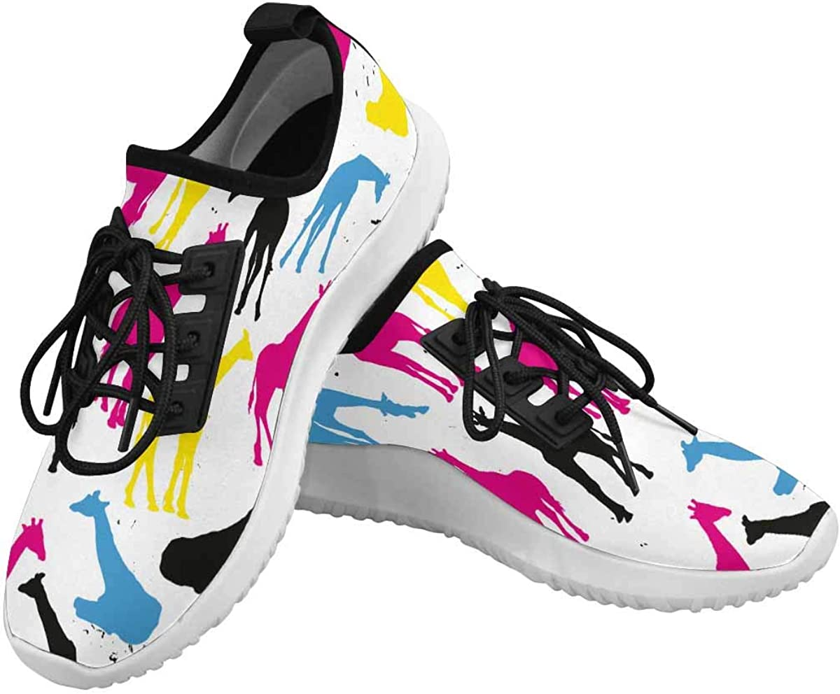 OFFicial INTERESTPRINT Dolphin Ultra Light Walking Women's Gingerbr Ranking TOP2 Shoes