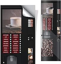 DON LETRA Vinilos para Neveras y Frigoríficos | 185 x 60 cm | Máquina Expendedora de Café | Vinilo Adhesivo Impermeable, Resistente y Económico
