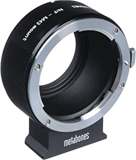 Metabones Nikon F Lens to Sony E-Mount Camera T Adapter II, Black Matte