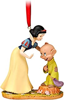 Disney Dopey and Snow White Sketchbook Ornament