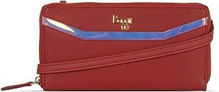 Baggit Women's Ziparound Wallet (Red)