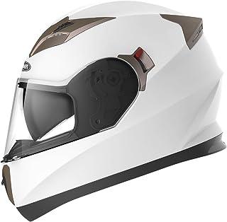 Motorcycle Full Face Helmet DOT Approved – YEMA YM-829 Motorbike Moped Street Bike..