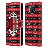 Head Case Designs sous Licence Officielle AC Milan Sempre Milan 1899 Art Coque en Cuir à...