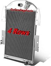 3 Row Aluminum Radiator Fits 1935 1936 Chevy Pickup Truck L6 V8 Conversion