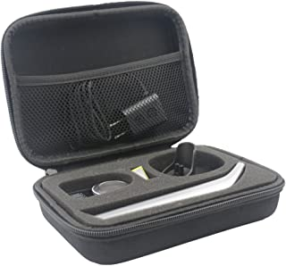 Duro Estuche Viajes Funda Bolso para Philips OneBlade Pro QP6520/30 QP6510/30 QP6510/60 - Recortador de barba by SANVSEN