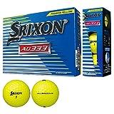 DUNLOP(ダンロップ) ゴルフボール SRIXON AD333 2018年モデル 1ダース(12個入り) パッションイエロー