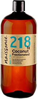 Naissance Fractionated Coconut Oil 1 Litre. 100% Pure & Natural
