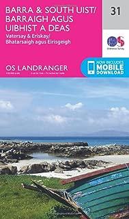 ORDNANCE SURVEY Landranger 31 Barra & South Uist, Vatersay & Eriskay Map with Digital Version