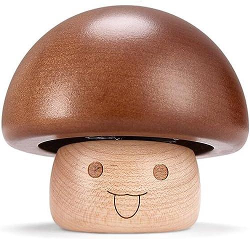 QZ HOME Wooden Music Box Eine Art Musik Geburtstagsgeschenk Creative Mushroom-Shaped Music Box (Farbe   Sky City)