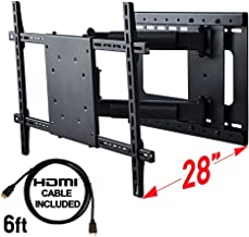 Aeon Stands and Mounts 40200 full motion TV wall mount with 28