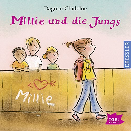 Millie und die Jungs cover art