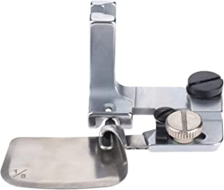 Mgoodoo 1pc Hemmer Presser Foot Steel for Industrial Single Needle Sewing Machines 1/8=0.32cm