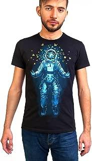 Space Inside Me Men's T-Shirt Glow Under UV-Blacklight PSY Goa Festival Neon Tee
