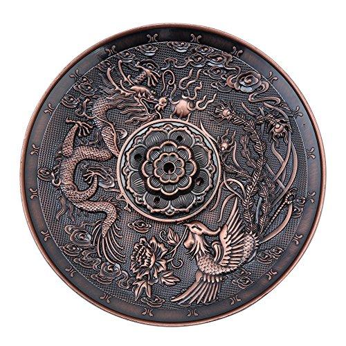 Akozon Quemador de incienso de china, Longfeng Forma,Regalo