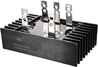 uxcell SQL40A1000V 5 Terminals Three Phase Power Bridge Rectifier Diode Module 40A 1000V