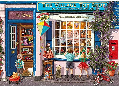 Yzqxiongtu Puzzel voor teddyberen en driewielers 1000 stukjes, landschapspuzzels voor volwassenen, stress-speelgoed verlichten, zeer uitdagende puzzel voor kinderen en tieners, casual