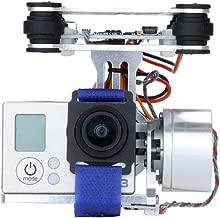 CNC FPV 2 Axis Brushless Camera Mount Gimbal w/ Motor & Controller for DJI Phantom F450 F550 X525 Gopro Hero3